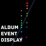 Album-Event display